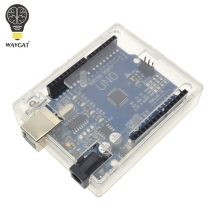 WAVGAT Transparent Box Case Shell for Arduino UNO R3 MEGA328P (Doesn't include UNO R3)