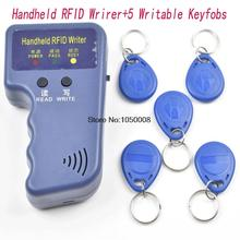Handheld 125KHz EM4100 RFID Copier Writer Duplicator Programmer Reader  5 Pcs