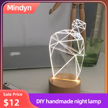 2019 LED light DIY Hand made Cute idea for small plants Electronic DIY Decorate your windowsill/desk fresh and beautuful(China)