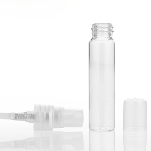 Image 5 - 100 adet/grup 5ml 10ml seyahat sprey şişesi taşınabilir cam parfüm şişeleri Atomizer Contenitori kozmetik pompa Parfum kadın parfüm