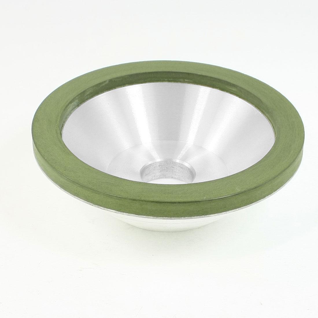 100mm OD 20mm Mounted Hole Resin Bond 1000 Grit Diamond Grinding Wheel LXM 1pc internal half segment 2 diamond wheel for glass straight line double edger dia175x8x8 hole 12 22 50 grit 150 180 bl007