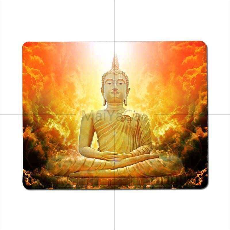 Maiyaca Favorit Saya Buddha Agama Hindu Disesuaikan Mousepads Komputer Laptop Anime Mouse Mat 2018 Panas Profesional Gamer Mouse Pad