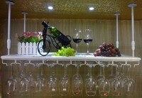 70*22CM Fashion Bar Red Wine Goblet Glass Hanger Holder Hanging Rack Shelf wall wine rack cup holder