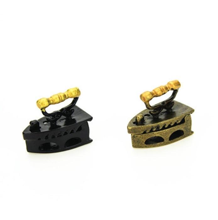 Mini doll house accessories simulation box gold hot bucket model mini house fine miniatu ...