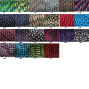 Image 5 - YoouPara 250 Colors Paracord 550 Rope Type III 7 Stand 100FT 50FT Paracord Cord Rope Survival kit Wholesale