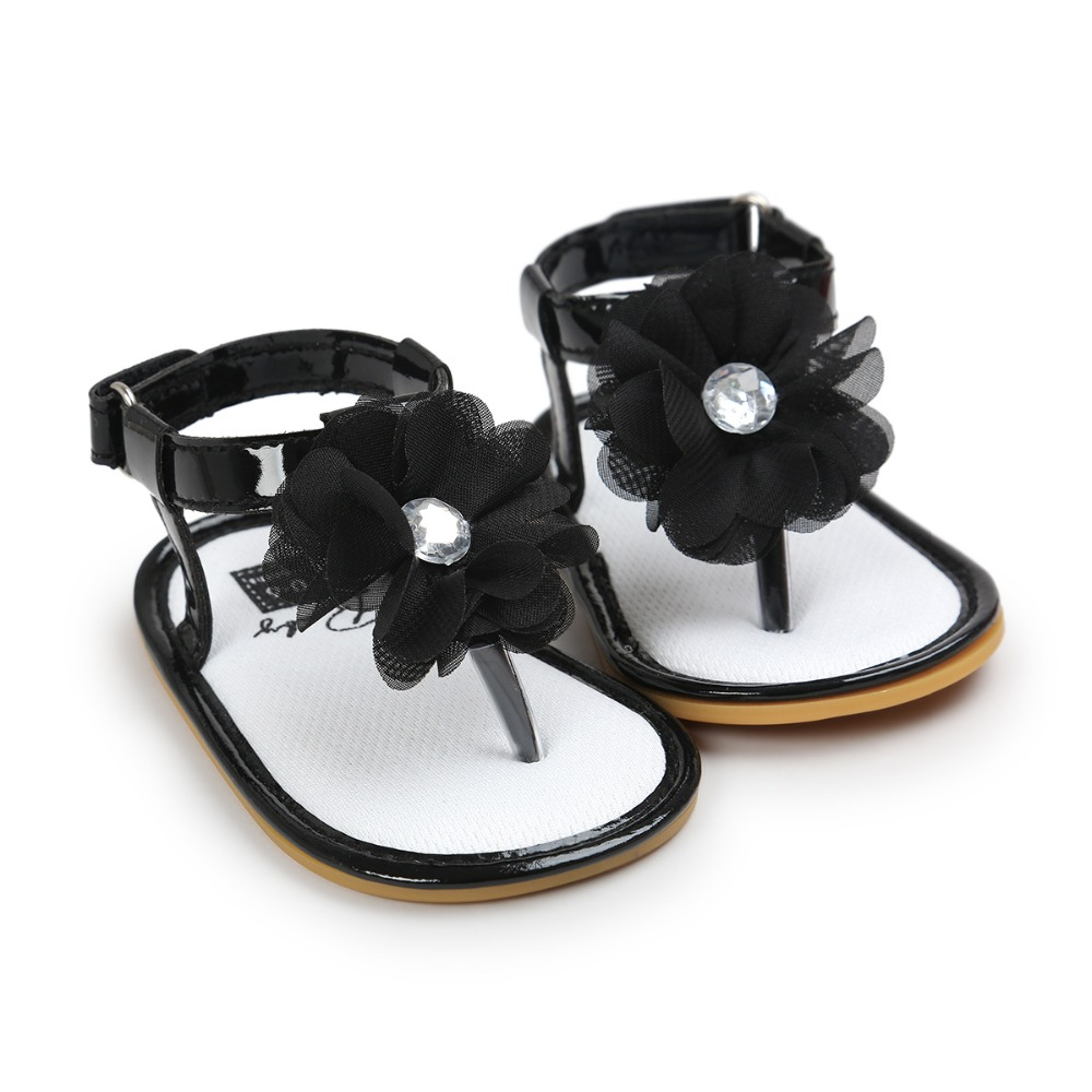 2017 sommer baby mädchen schuhe blume säuglingskleinkind sandalen - Babyschuhe - Foto 4