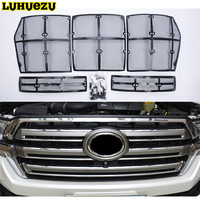 Car Insect Screening Mesh Front Grille Insert Neting For Toyota Land Cruiser 200 FJ200 2016 2017 2018 Accessories