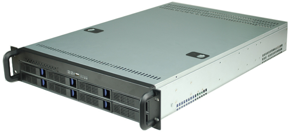 2308 2u8 disk hot plug server cabinet Industrial control storage DVR storage yt2008 2u8 disk hot swap storage server monitoring storage hard disk video case