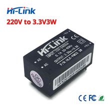 무료 배송 2 개/몫 하이 링크 HLK PM03 220v 3.3 v 3 w ac dc 미니 절연 스텝 다운 전원 공급 장치 모듈