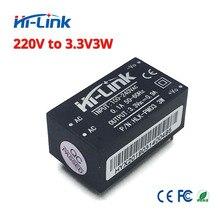 Miễn phí vận chuyển 2 cái/lốc Hi Liên Kết HLK PM03 220 v 3.3 V 3 W AC DC kích thước nhỏ bị cô lập bước xuống mô đun cung cấp điện