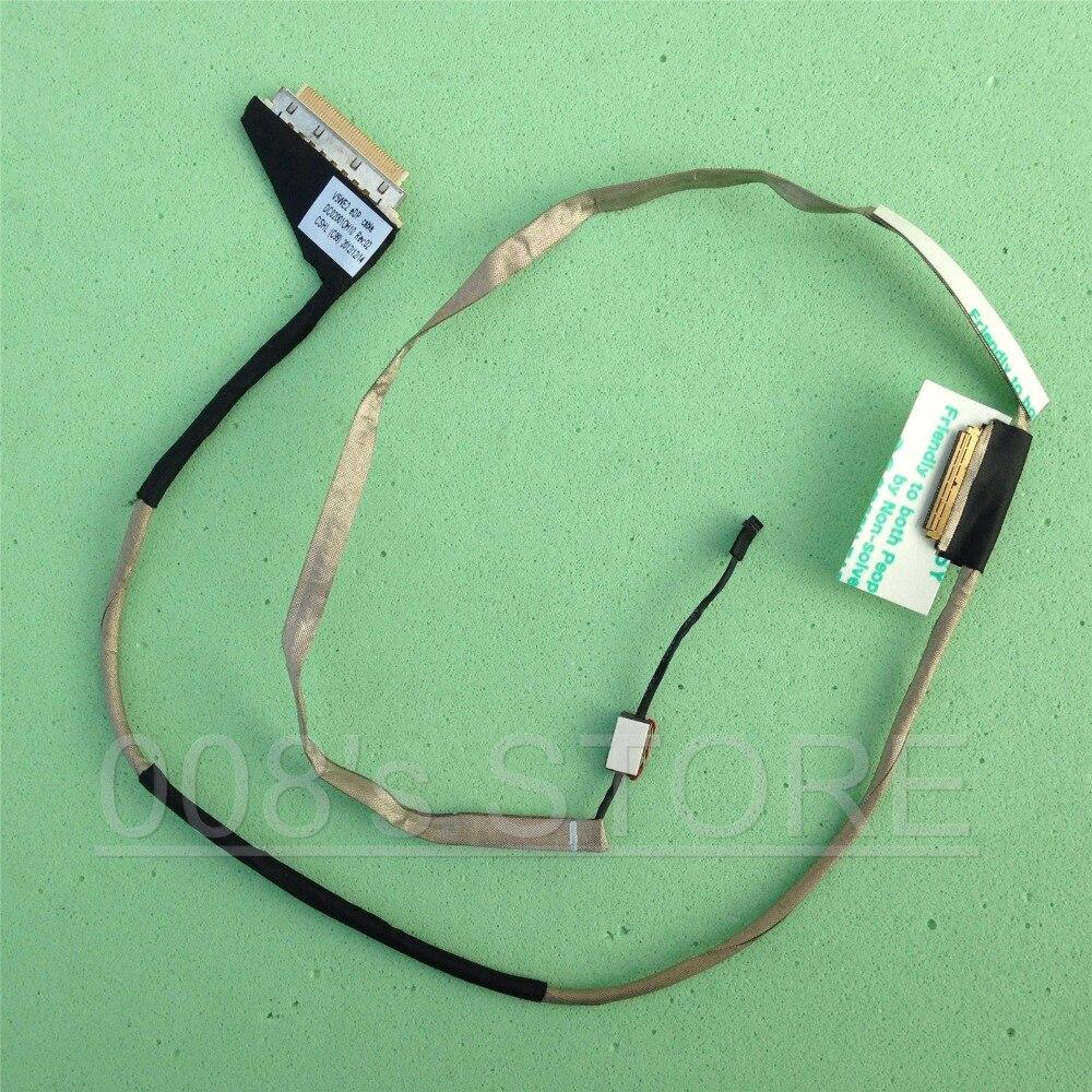 Novo Notebook V5WE2 eDP Tela LCD FLEX Cable Para Acer E1-532 E1-570 E1-572 E1-510 E1-530 E1-532P E1-570G V5-561 DC02001OH10