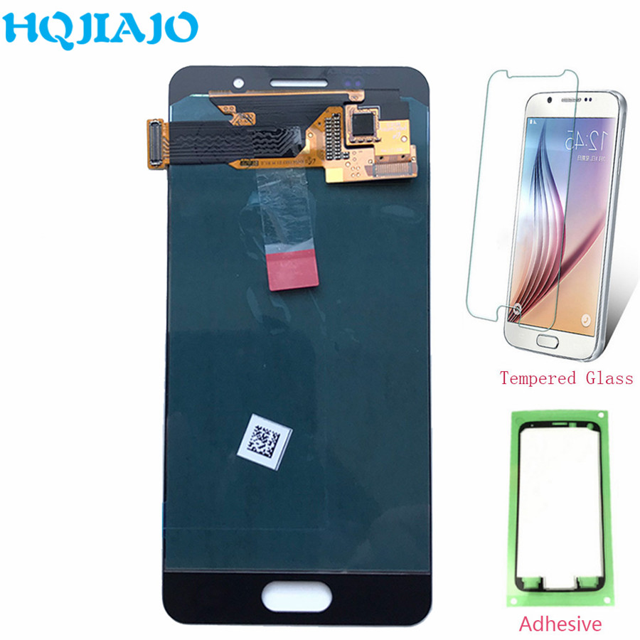 Super <font><b>AMOLED</b></font> LCD Screen For Samsung A310 LCD <font><b>Display</b></font> Touch Screen Digitizer For Samsung Galaxy A3 2016 A310 <font><b>A310F</b></font> A310Y Assembly image