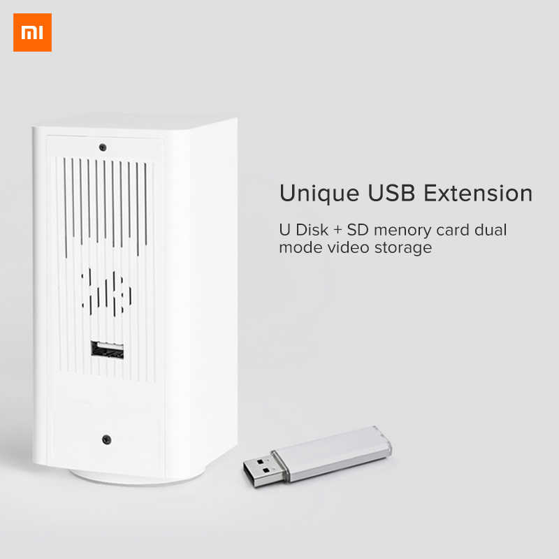 Asli Xiao Mi Mi Jia IP Camera Dafang Smart Monitor 110 Derajat 1080 P HD Keamanan Cerdas WIFI Malam Visi untuk Mi Aplikasi Rumah