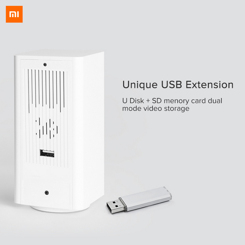 Image 4 - Original Xiaomi Mijia IP Camera Dafang Smart Monitor 120 Degree 1080p Smart Security WIFI Night Vision Camera For Mi Home App-in Surveillance Cameras from Security & Protection