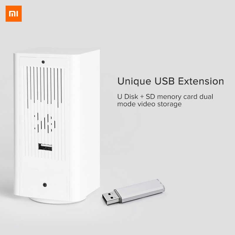Original Xiaomi mi jia cámara IP Dafang Monitor inteligente 110 grados 1080p HD seguridad inteligente WIFI visión nocturna para mi aplicación para hogares