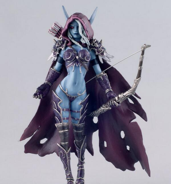Sylvanas Windrunner Fall Of the Lich King Arthas Dwarf King Human Priester Classic Toys For Boys Model Figure Without Retail Box wrath of the lich king collectors edition eu киев
