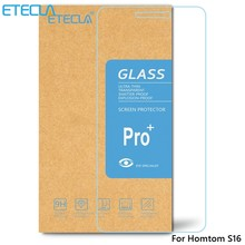 2PCS Homtom S16 Tempered Glass Homtom S16 Glass Homtom S16 Screen Protector Film S 16 Case 0.26mm HD 2.5D Clear Tempered Glass(China)