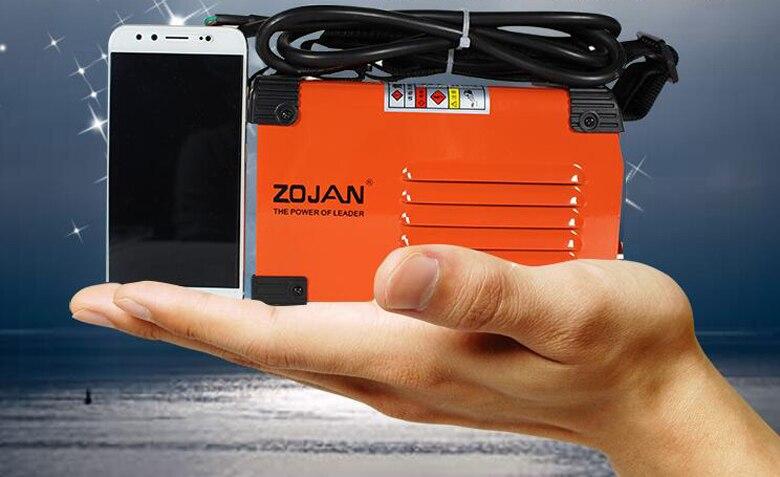 Tout En Cuivre De Petit Ménage Mini Portable MMA Soudeuse 220 v Sortie Machine de Soudage À L'ARC Inverseur 180-250 v 20-250A