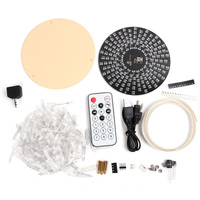New Arrival 1 Set DIY Electronic For Aurora Kit RGB LED Flashing Kit