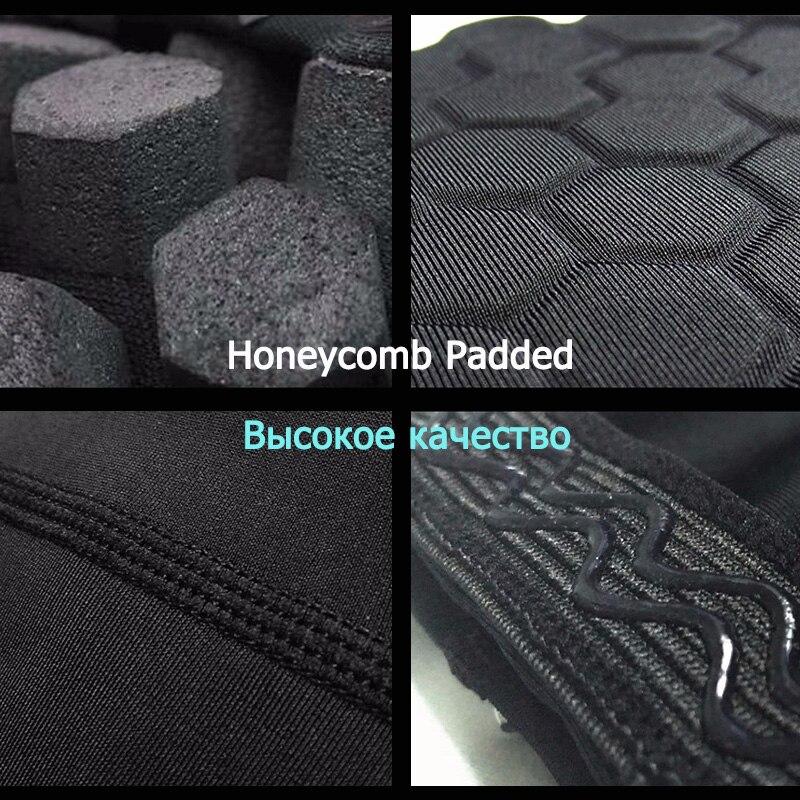 Yuerlian 1 unid Cintas de Nido de abeja de Seguridad en Los Deportes de Baloncesto voleibol Rodillera Calcetines de Compresión Vendas de Rodilla Brace Protección Rodillera