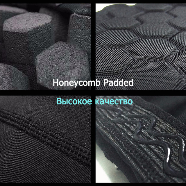 Honeycomb Sports Safety Tapes Basketball Knee Pad Compression