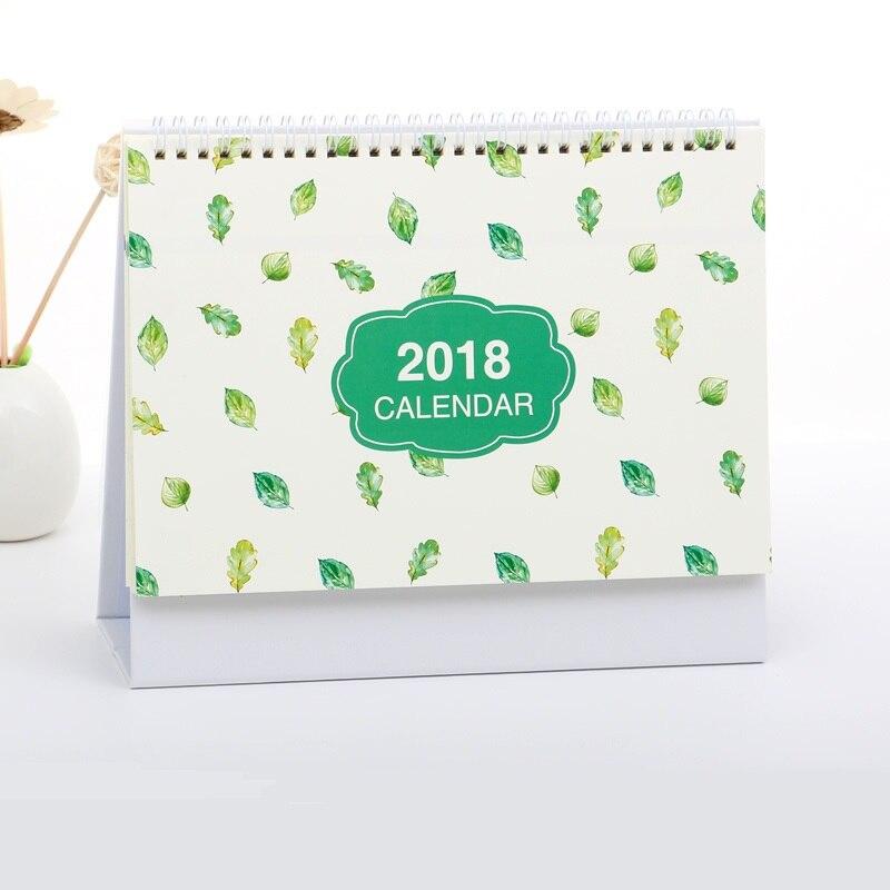 2018 Desk Calendar Organizer Schedule To Do List Daily Desktop Calendar organizador desk calendario stationery