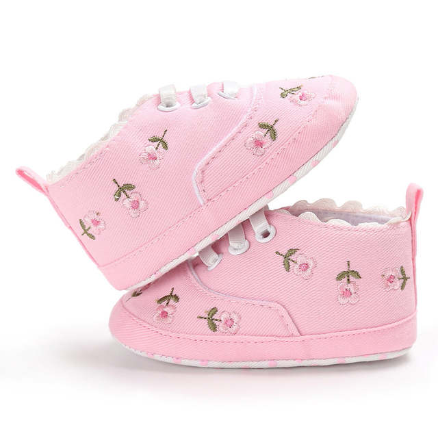 5e67e9aec6cd00 Detail Feedback Questions about ARLONEET 2019Newest Arrival Newborn Infant  Baby Girls Floral Crib Shoes Soft Sole Anti slip Sneakers Canvas N04 on ...