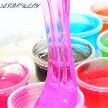 1pcs 12 colors Colorful Crystal mud clay can draw slime Children Educational Handgum Intelligent Funny Toys Crystal Clay Toy