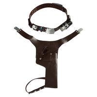 Star Wars Cosplay Han Solo Belt Harness Set Strap Holster Holder Star Wars Cosplay Prop