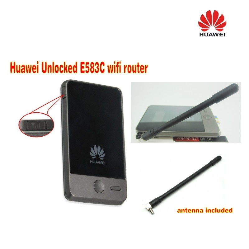 Brand new Huawei e583c 3G wireless router plus 3g antenna