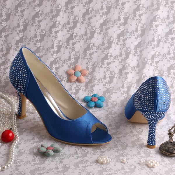 Talons Des Bout Chaussures Cristal Mariage Olive aqua Bleu blush mint green Blue Ouvert Femmes À Green Hauts fuchsia Pompes De blanc navy Blanc nude Robe 44vXE