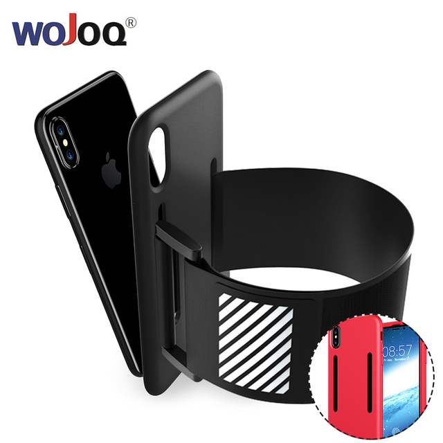 Gym Sports Running Armband for iPhone 7 8 Plus Phone Case Cover Holder Armband Bag Case for iPhone 7 8 plus