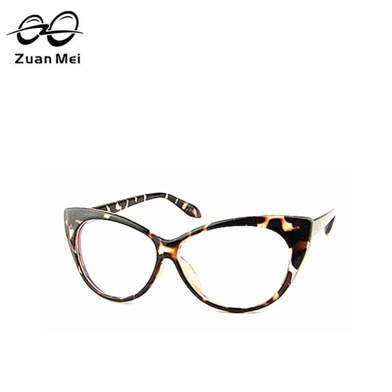 1f1ec2df73848 Leopardo Gato Óculos Óculos de Leitura Moda Feminina Grande Leitura Óculos  Anti-Fadiga Resistentes À Radiação Óculos Pc Espelho