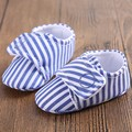 1 pcs Retail Stripe baby shoes boys girls summer spring autumn newborn infant