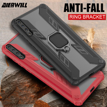 Armor Case For samsung a50 case Magnetic Finger Ring Protective Shockproof phone cover galaxy A50