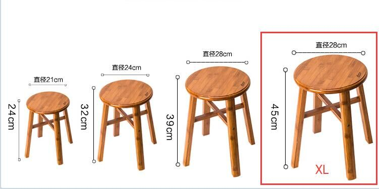 Superb Low Stool Child Solid Wood Household Adult Round Stool Theyellowbook Wood Chair Design Ideas Theyellowbookinfo