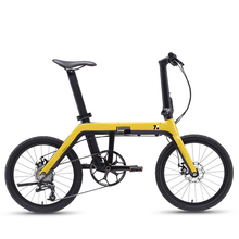 20 inch smart folding bike city multifunctional folding mini bike galaxy hidden folding lock variable speed smart men and women