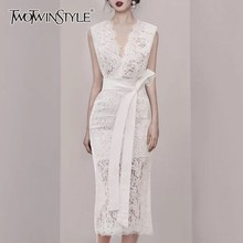 Dresses TWOTWINSTYLE Lace Women