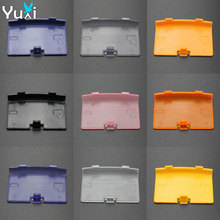 YuXi 9 Colors Battery Cover Lid Door Replacement For GBA Back Case Nintendo Gameboy Advance Console