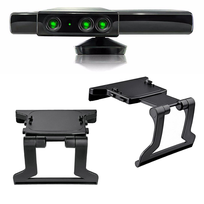 1pc 2018 Hot Sale TV Clip Clamp Mount Mounting Stand Holder for Microsoft Xbox 360 Kinect Sensor Newest Worldwide Hot Drop