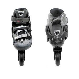 Image 3 - Japy paten SEBA KSJ Bullet profesyonel Slalom tek sıra tekerlekli paten karbon Fiber rulo kayak ayakkabıları sürgülü ücretsiz paten Patines