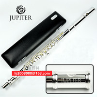 high quality Flute JUPITER JFL 511ES 16 Holes Closed C Key Silvering Flute beginner flauta transversal musical instrument Case