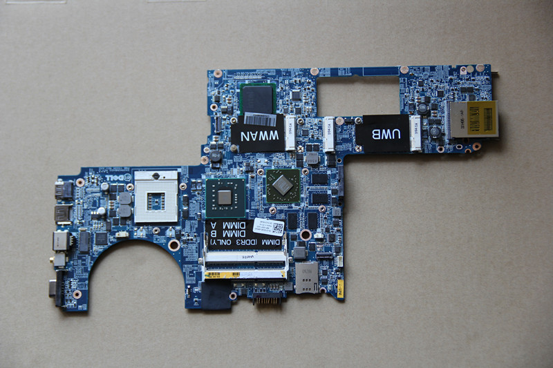 CN-0Y504R 0Y504R Y504R For DELL XPS 1640 Laptop motherboard DA0RM3MBAD0 with 216-0729051 GPU Onboard PM45 DDR3 fully tested