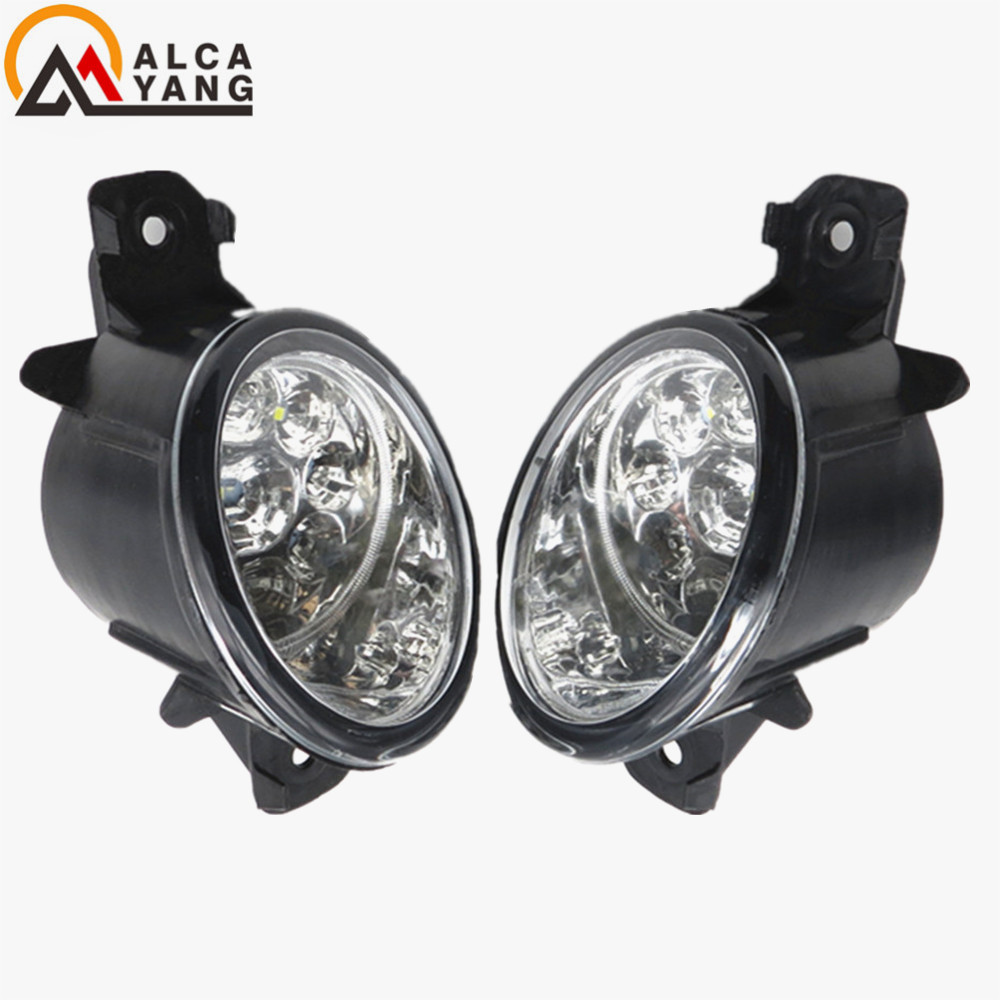 Malcayang Devil Eyes Car styling LED / Halogen Fog LIGHT Lights drl Refit 55W For Renault CLIO 2/II Box (SB0/1/2_) 1998-2004 malcayang fog lights for polo 12v 55w h11 1 set car styling halogen for lexus rx350 awd 2009 2013