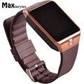 Смарт-часы Maxinrytec Bluetooth для мужчин DZ09 Relojes Smartwatch Relogios TF SIM Камера для IOS iPhone Samsung Xiaomi Android часы