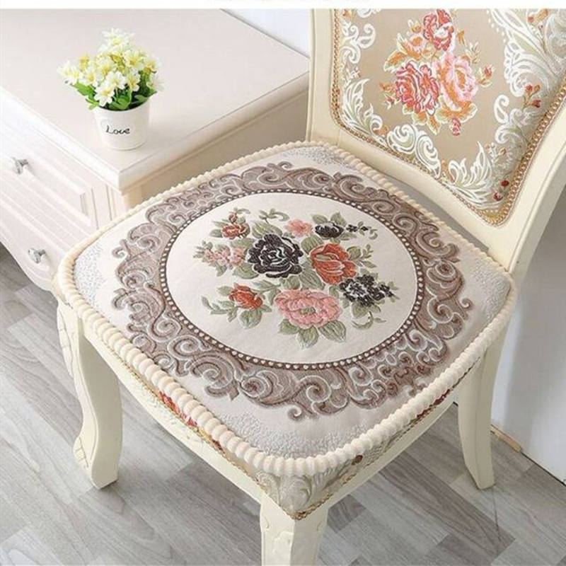 Nordic Kitchen Chair Cushion Comfort Seat Mat Adult Child Seat Cushion For Home Office Soft Seat Cushion Anti Slip Chair Pads