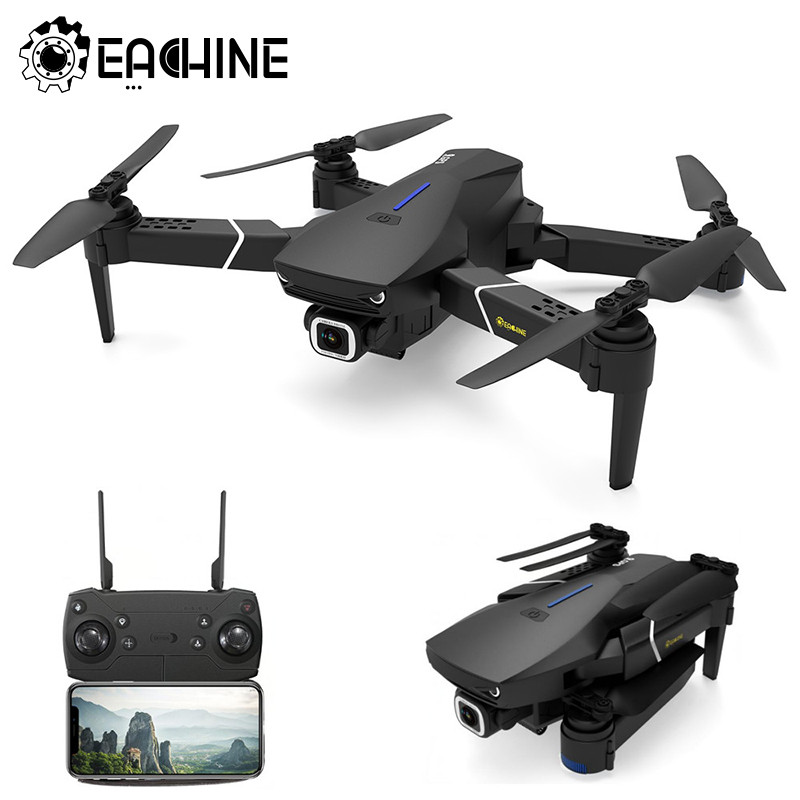 Eachine E520S GPS WIFI FPV With 4K/1080P HD Wide Angle Camera 16mins Flight Time Foldable RC Drone Quadcopter Kid Helicopters