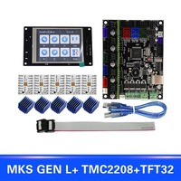 For MKS GEN L Compatible with TFT32 LCD Display Support TMC2208 Motor Driver 3D Print Kits IJS998