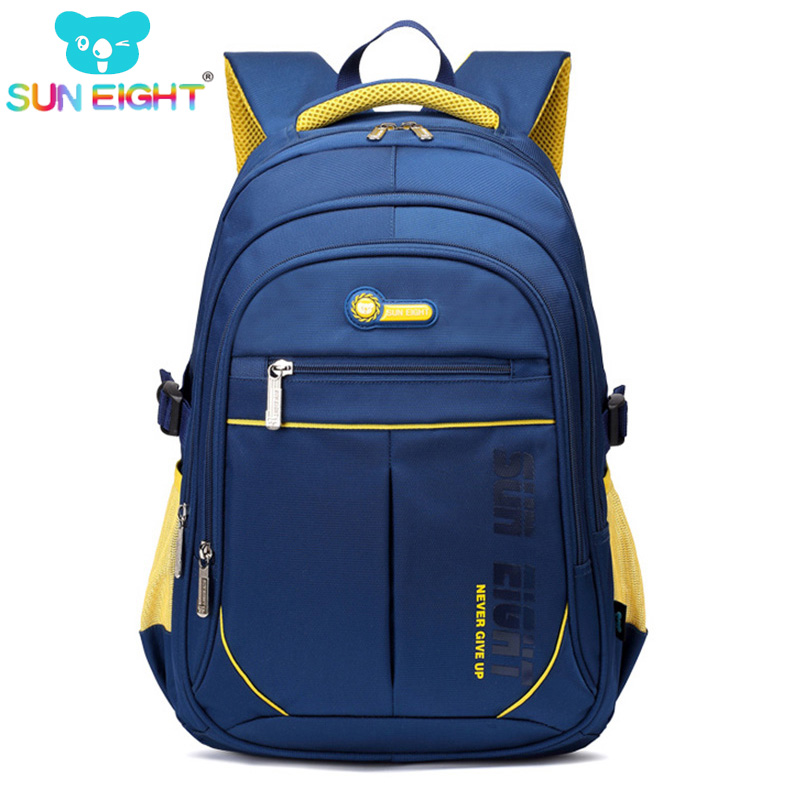 bf2e1545be SUN EIGHT Super Capacity Backpack For Boy School Bags for Teenager Boys  Travel Backpack No Defect
