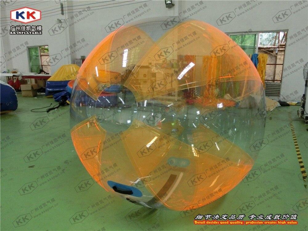 Bon marché boule gonflable de rouleau de bulle d'eau courante de boule de marche de l'eau de TPU/PVC pour des enfants/adulte - 4